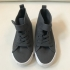 H&M Canvas High Tops, Gray
