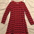 Red and Blue Dress for any occasion, Size 7
